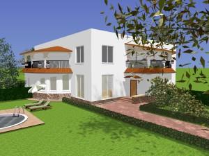 Дизайн с плоской крышей2