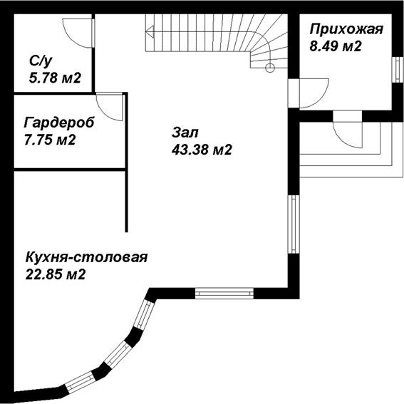 1-й этаж 222222