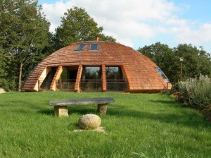 A peaceful and natural setting for a Domespace home