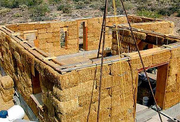 Строительство дома из соломы своими руками