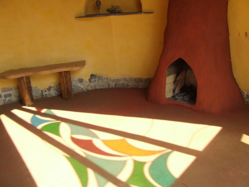 глиняный пол