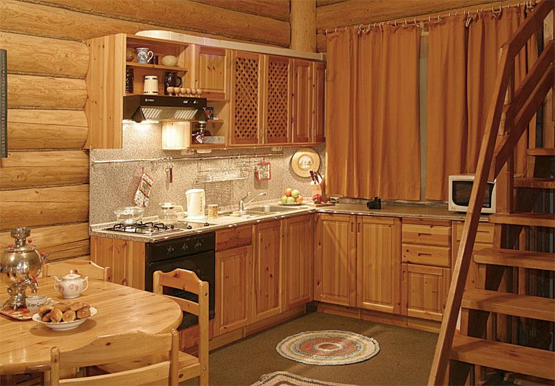Отделка стен кухни в частном доме