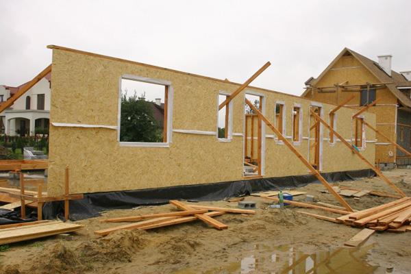 Деревянные панельные дома своими руками