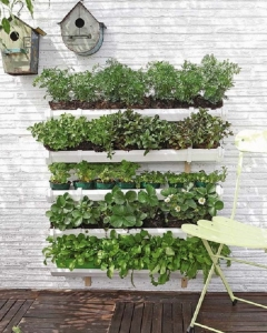 DIY-wall-garden-plastic-troughs