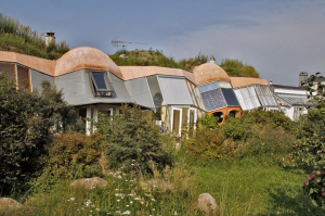 Danish eco-village of Dyssekilde