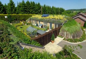 Honingham Earth Sheltered Social Housing