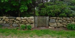 Picket Gate in Chilmark jeffrey bale