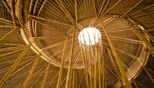 bamboo school bali