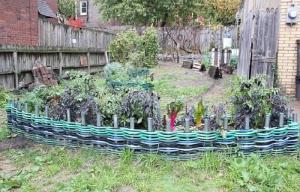 hose wattle fence