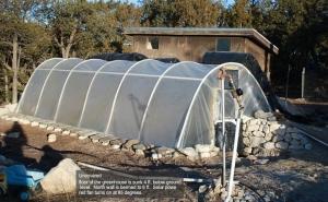 pit greenhouse solar