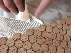 step-1-Showercork-Applying-Showercork-Adhesive