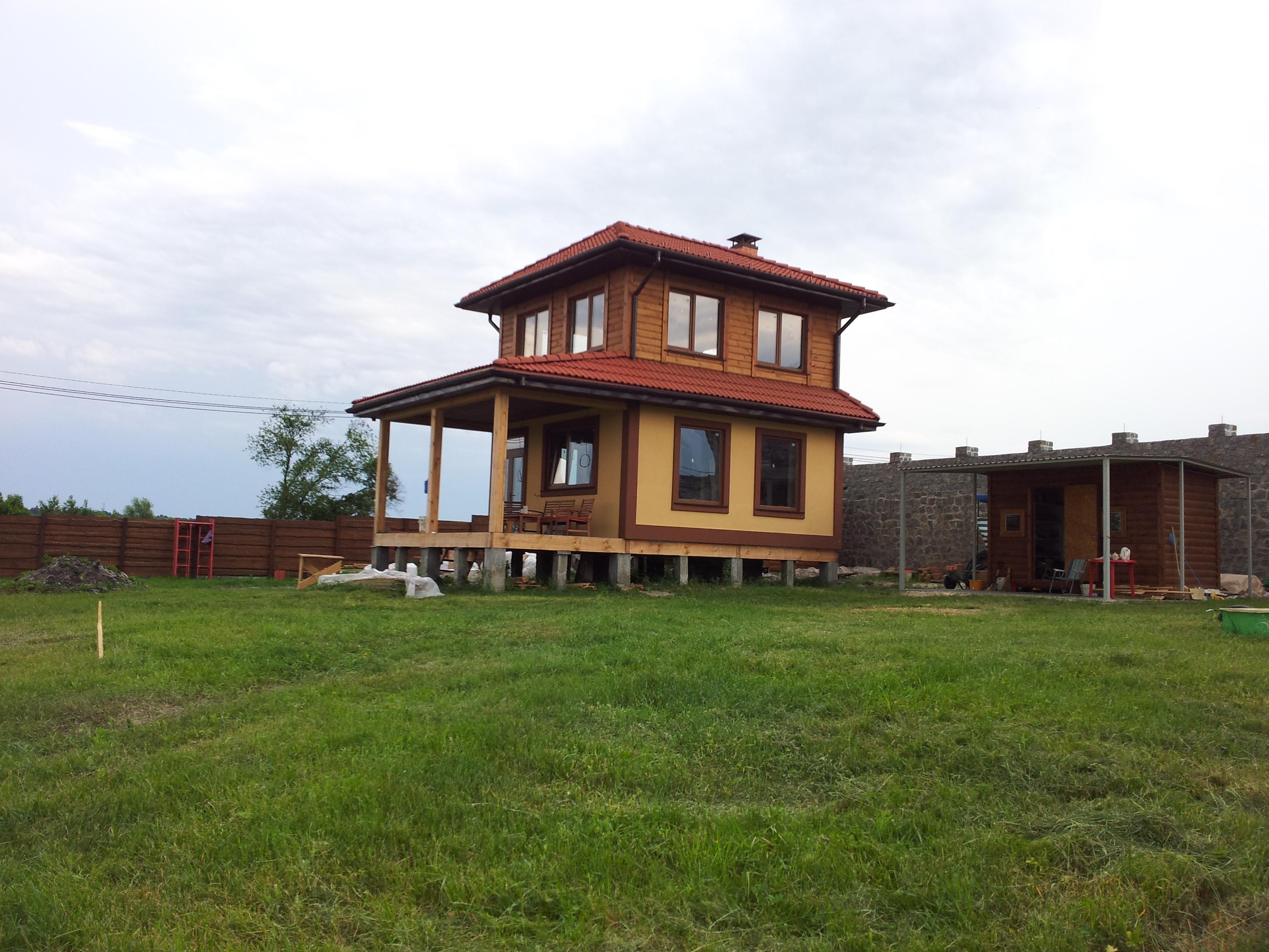 Дом из соломы