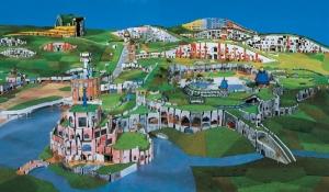 Thermal Village Blumau model