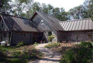 Wayne Higgins Stonewood Cordwood House