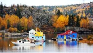 Yellowknife Bay float