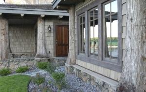 adirondack style cabin
