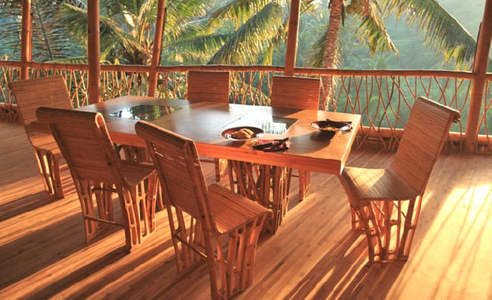 декорирование бамбуком