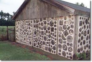 cordwood-wall