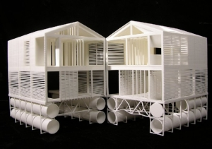 mos-floatinghouse model