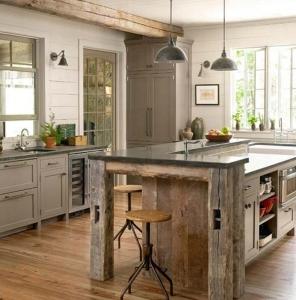 old wood-kitchen