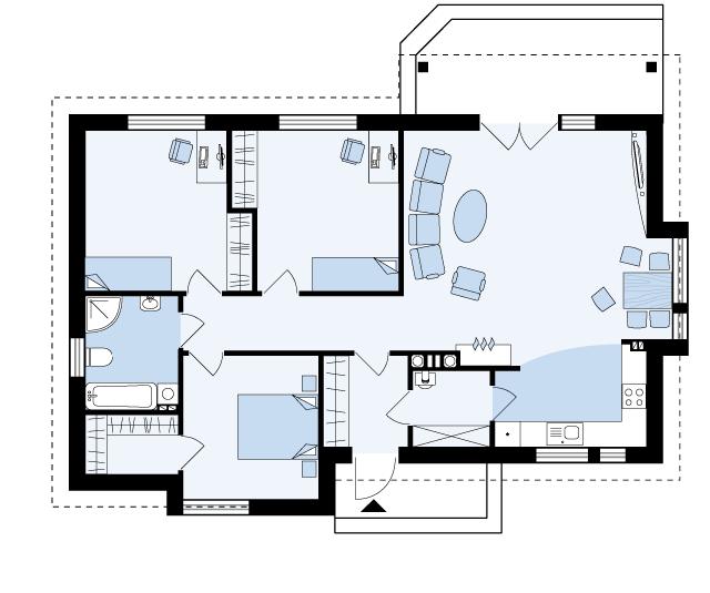 plan doma Neapol