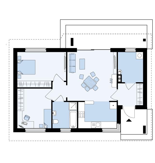 plan doma izida