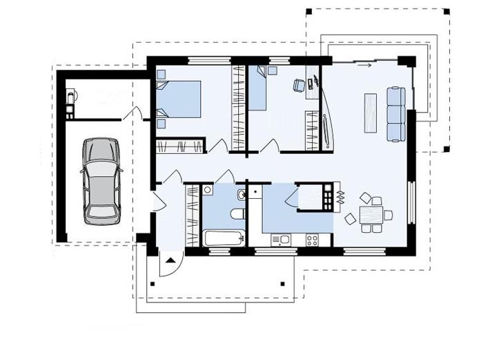 plan doma simfonia 104 m