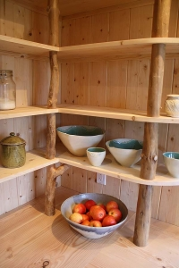 whole tree shelf supports