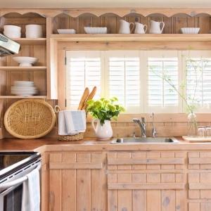 wooden bars as handles b homes gardens