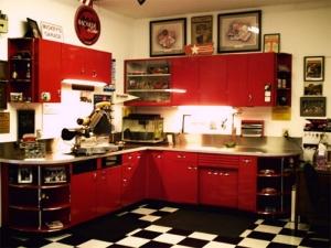 workshop of kitchen cabinets