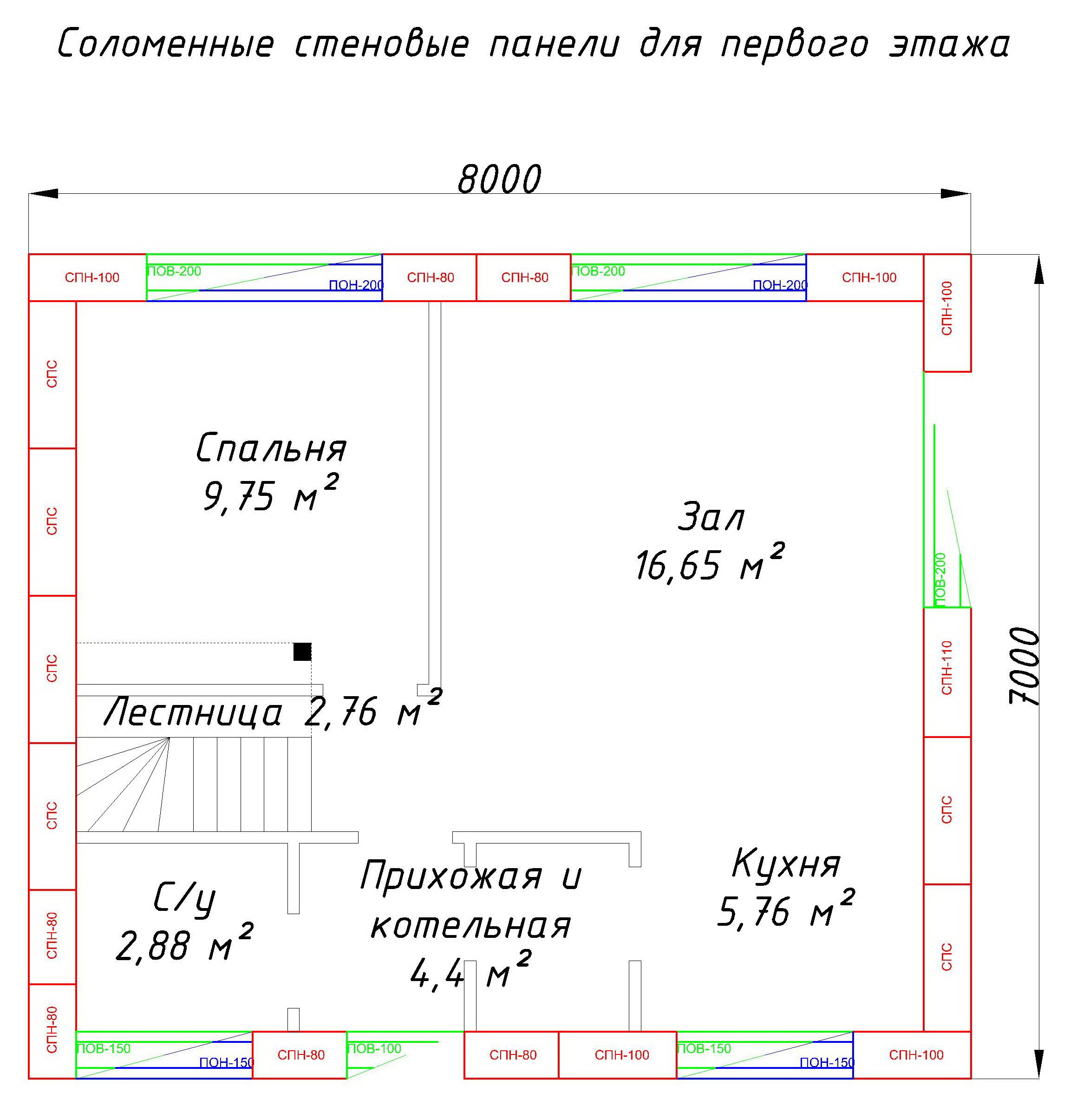 Чертеж Глория-Model1