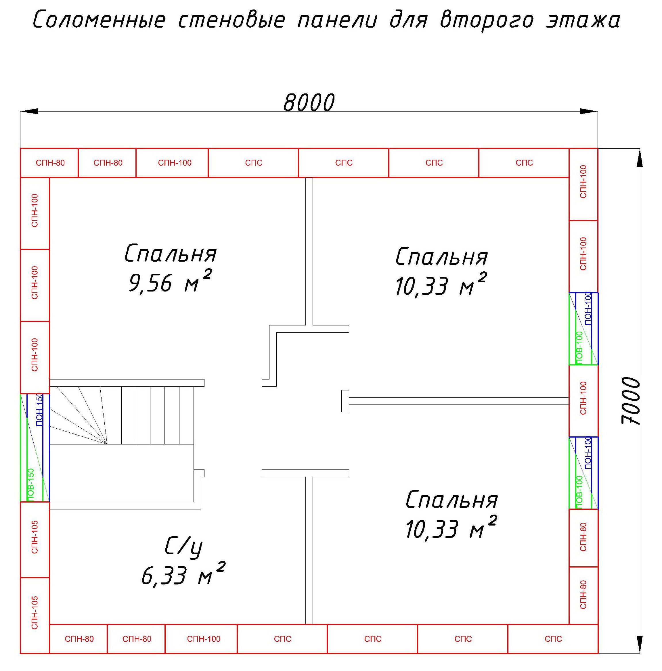 Чертеж Глория-Model2