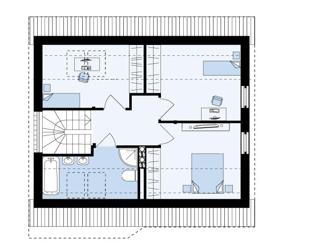 план дома Глория 2