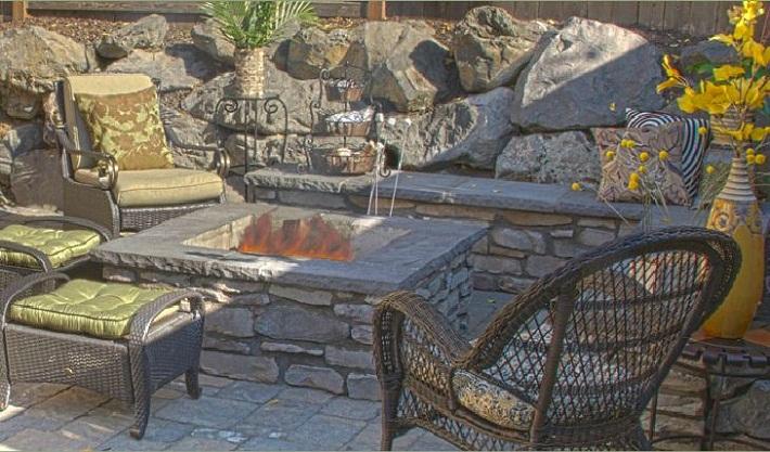 мебель из камня